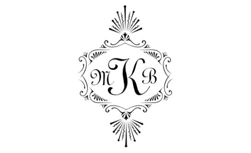Monogram: Typo Upright Monogram 07