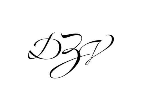 Monogram: Zapfino Monogram 09