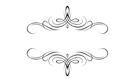 Flourish Monograms Documents And Designs