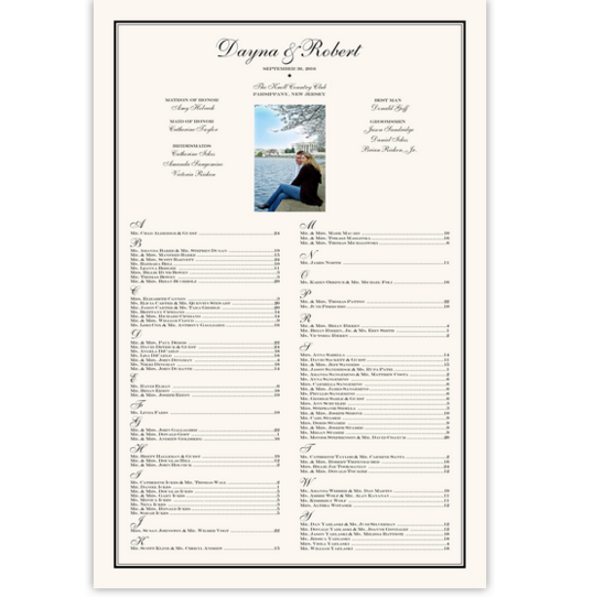 Happy Moments Photography Photography Wedding Seating Charts
