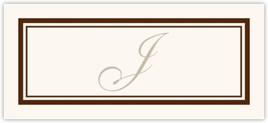 Bracha Contemporary and Classic Place Cards