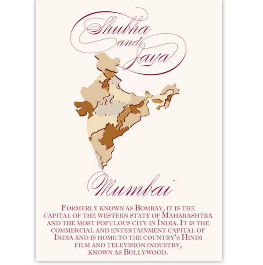 Map Of India Maps and Travel Memorabilia Cards