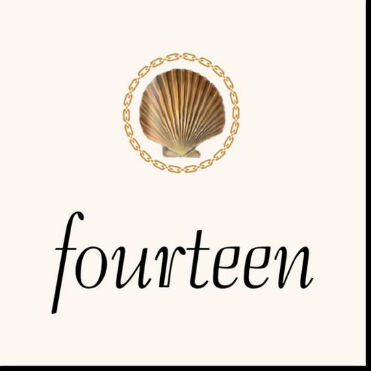 Nautilus Seashell Flourish Beach and Seashell Table Numbers