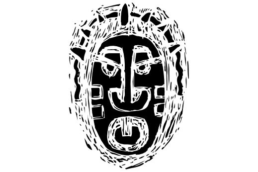 Cultural Illustrations African Mask 15 Artwork