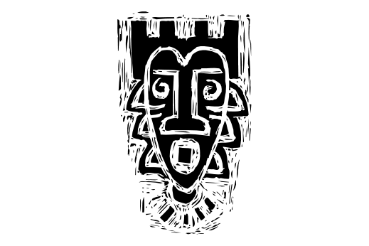 Cultural Illustrations African Mask 19 Artwork