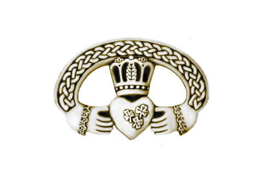 Cultural Illustrations Claddagh Ring (gold) Artwork