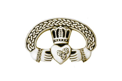Cultural Illustrations Claddagh Ring (gold) Artwork