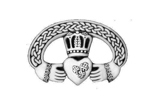 Cultural Illustrations Claddagh Ring (silver) Artwork