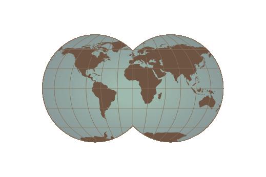 Cultural Illustrations Globe Artwork