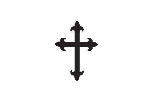 Cultural Illustrations Gothic Cross 02 Artwork