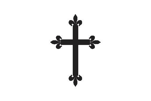 Cultural Illustrations Gothic Cross 03 Artwork