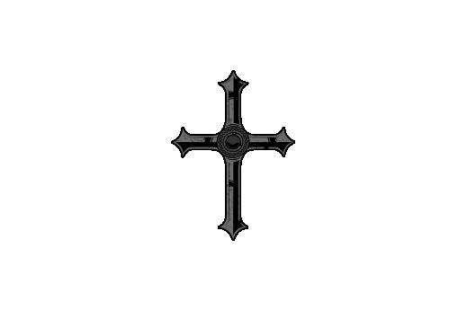 Cultural Illustrations Gothic Cross 04 Artwork