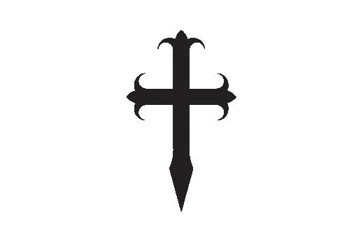 Cultural Illustrations Gothic Cross 05 Artwork