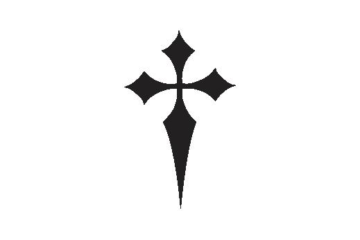 Cultural Illustrations Gothic Cross 07 Artwork