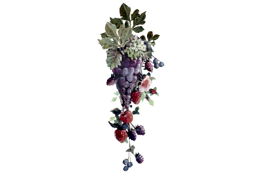 Spring Flowers, Autumn Leaves, Grapes Grapes and Berries Artwork
