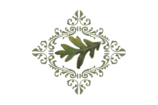 Spring Flowers, Autumn Leaves, Grapes Leaf Flourish 03 Artwork