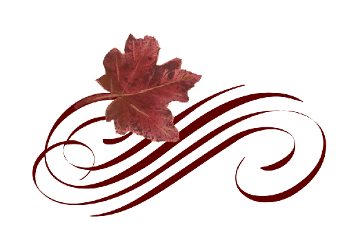 Spring Flowers, Autumn Leaves, Grapes Leaf Flourish 10 Artwork