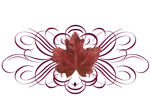 Spring Flowers, Autumn Leaves, Grapes Leaf Flourish 15 Artwork