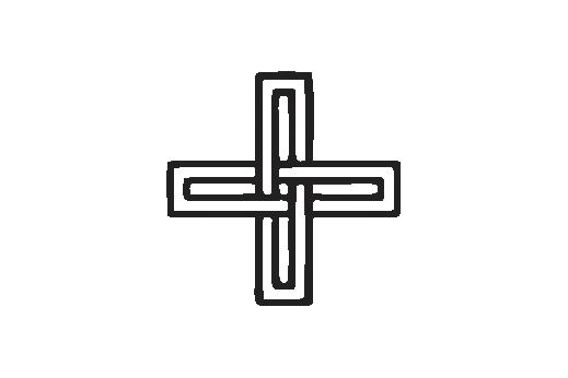 Cultural Illustrations Linked Cross 01 Artwork