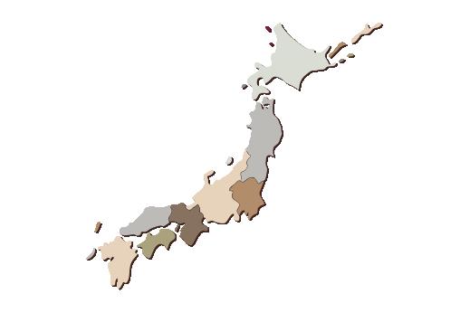 Cultural Illustrations Map of Japan Artwork