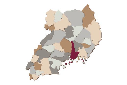 Cultural Illustrations Map of Kenya Artwork