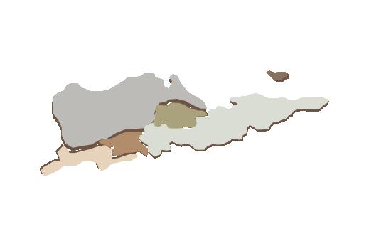 Cultural Illustrations Map of St. Croix Artwork
