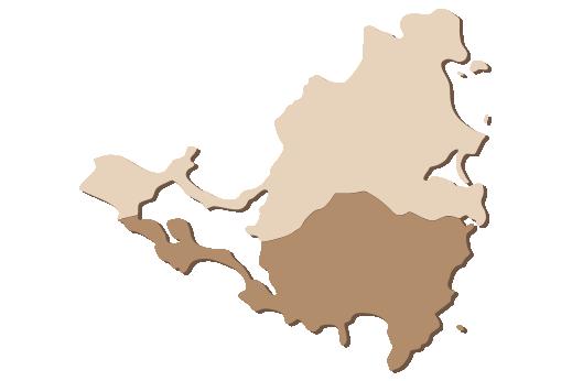 Cultural Illustrations Map of St. Maarten Artwork