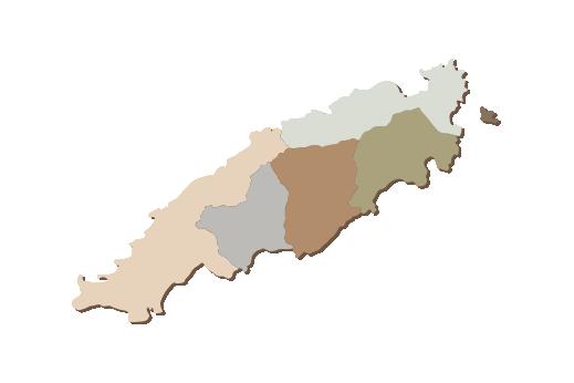 Cultural Illustrations Map of Tobago Artwork