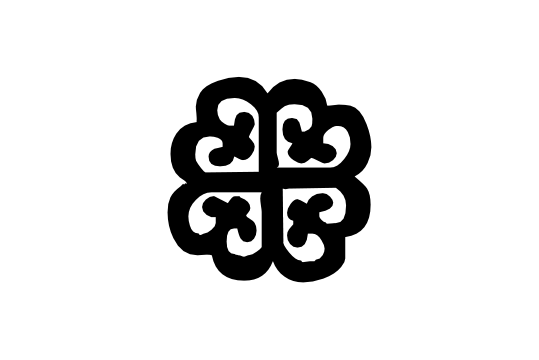 Cultural Illustrations Adinkra - Nyame Dua Artwork