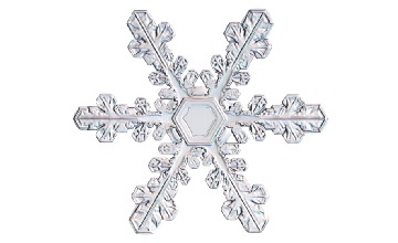 Winter and Holiday Snowflake 12 Artwork
