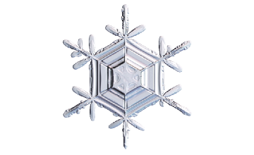 Winter and Holiday Snowflake 15 Artwork