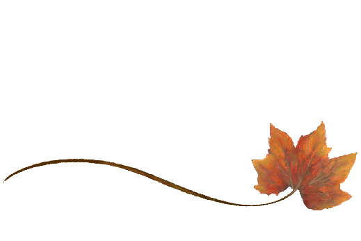 Spring Flowers, Autumn Leaves, Grapes Wispy Rock Maple Leaf Artwork