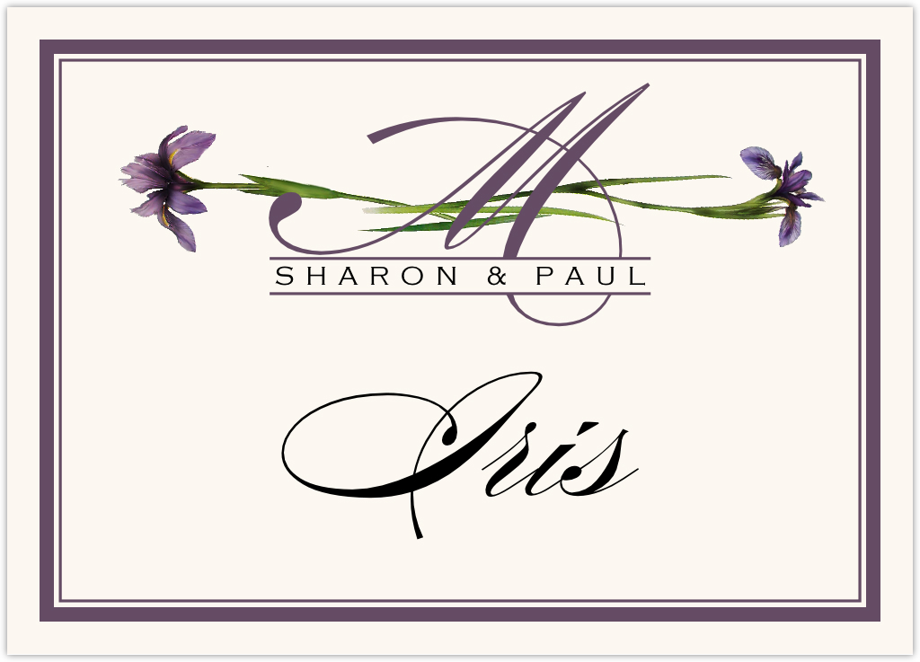 Wispy Iris Table Names
