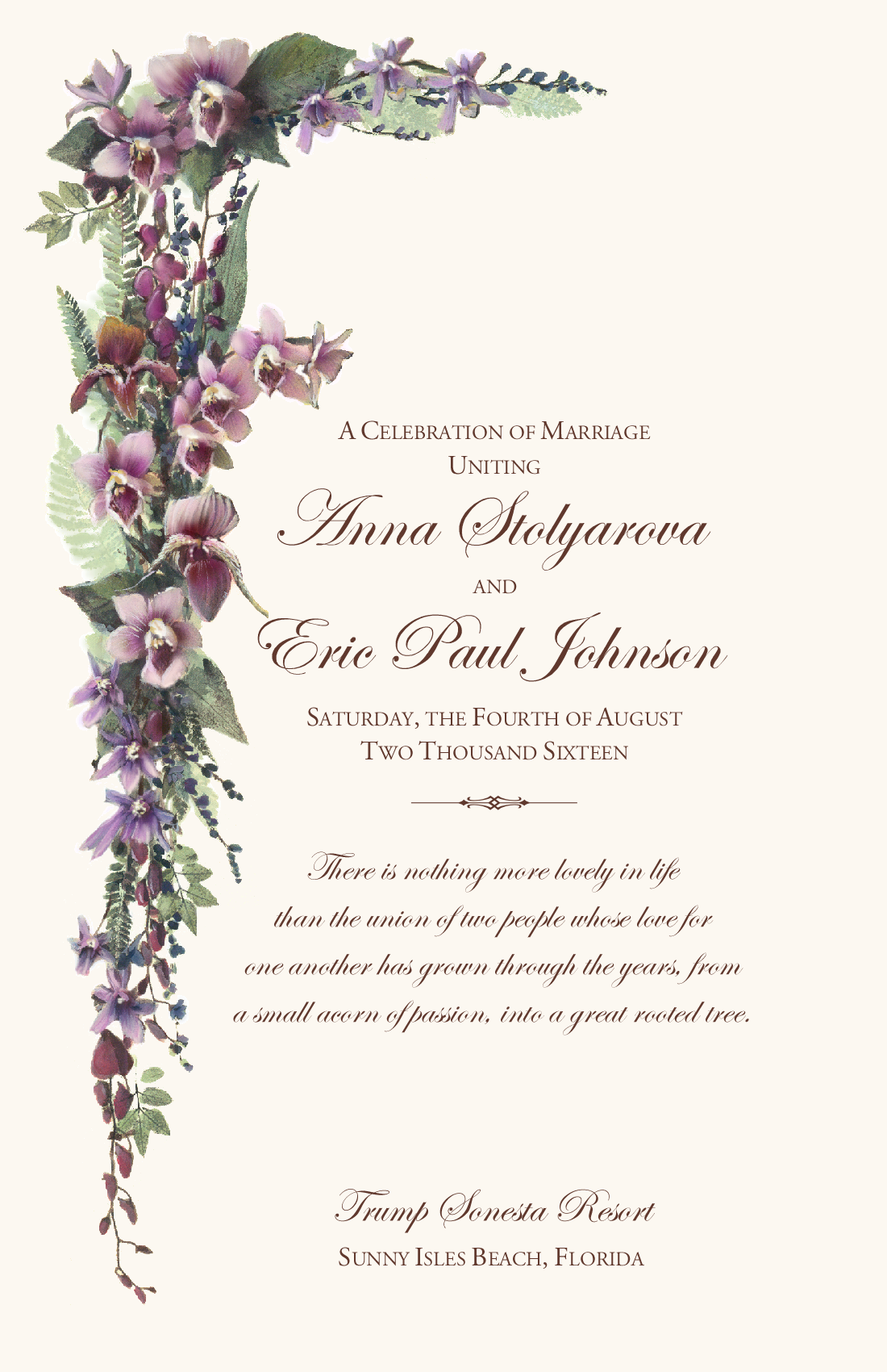 http://www.documentsanddesigns.com/images/Universal_Florals/Orchids/E_Wedding_Program_Cover_Orchids.jpg